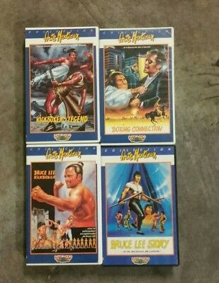 K7 VIDEO VHS  ARTS MARTIAUX BRUCE LEE X2 et autre...