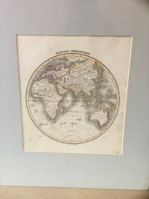 Original Map 1827 EASTERN HEMISPHERE , Wyld's General Atlas, Engraved By Hewitt