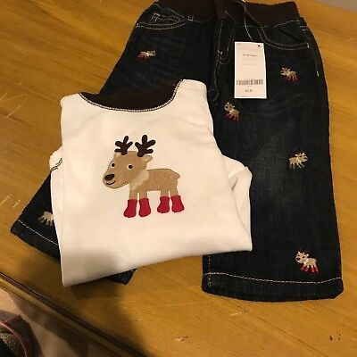 Gymboree Chrstmas Oufit 12-18 Months New