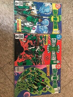 Tales of the Green Lantern Corps 1-3 (1981) Bronze Age DC Comics Lot of 3