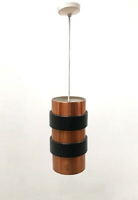 60s Super Mid Century Minimal Modernist Danish Fog and Mørup style pendant light