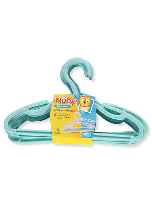 Nuby 10-Pack Children's Hangers
