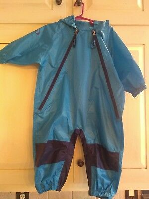 Tuffo Unisex Baby Muddy Buddy Coverall Blue 18 Month
