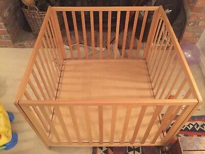 Baby Toddler Solid Wooden Playpen Guard