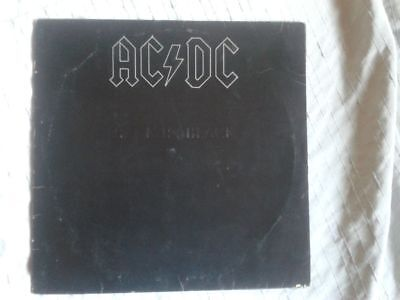 LP Vinyl  AC/DC Back in Black 1980