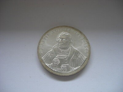 * 20 DDR Silber Mark * Martin Luther 1983