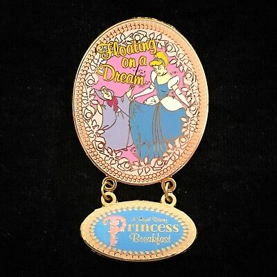 LE Fairy Godmother Cinderella Royal Princess Breakfast Dining DLR Disney Pin