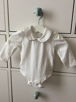 The Little White Company Bodysuit Size 0-3 Months