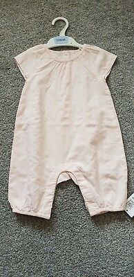 Girls' Marks and Spencer Vest / Playsuit Age 6-9 Months
