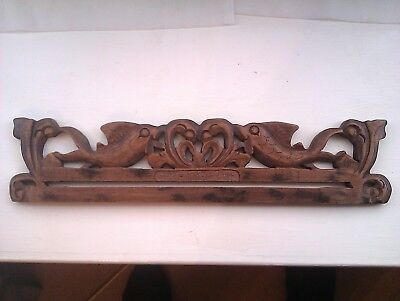 Wooden Decorative Indian Type Bed Drape Holder.