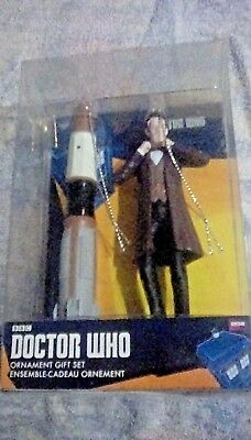 Doctor who christmas decorations.New in box.