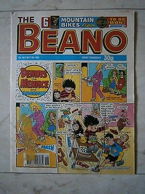 The Beano.Number 2651. May 8th 1993 Vintage UK Comic.