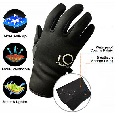 Winter Warm Gloves Waterproof Windproof 3M Touchscreen Running Work Snow Cycling