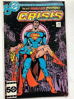 Crisis On Infinite Earths #7-1985 George Perez Death of Supergirl