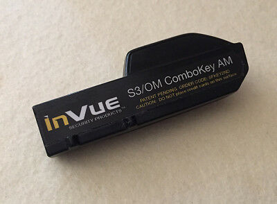 inVue S3/OM comboKey AM Security Anti Theft Key SFKEY2ND. Barely Used.