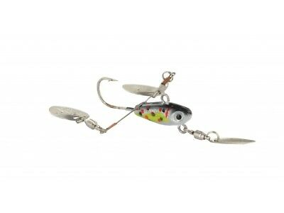 Pack 4 Unidades Micro Spinner Jig Power Dragonfly Ultra Spoon 10 G