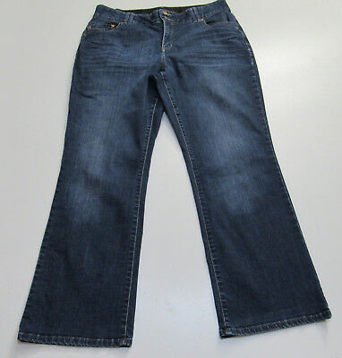 Lane Bryant Tighter Tummy Technology Boot Cut Stretch Blue Jeans Size 16  : 2352