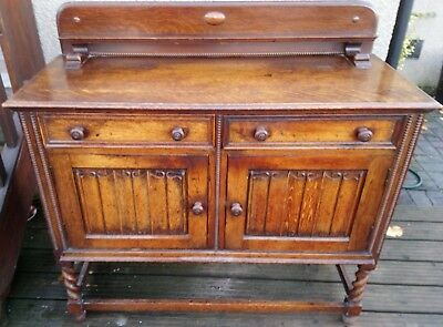Sideboard - Attractive antique Victorian style NO RESERVE