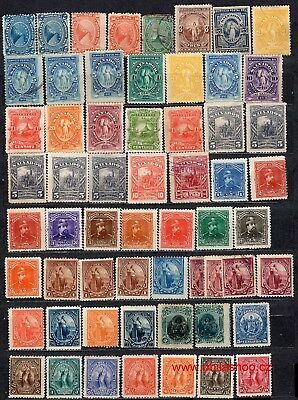 El Salvador, 330+ used, MH or WG stamp (some MNH)
