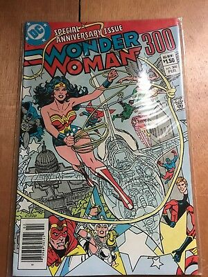 WONDER WOMAN # 300 Feb 1983 SPECIAL ANNIVERSARY ISSUE