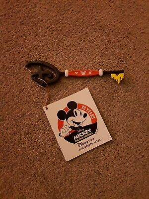 Mickey Mouse 90th Birthday Key Memories - new with tags - collector item