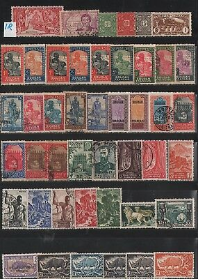 France Colonies    Lot Of Old Stamps #1R