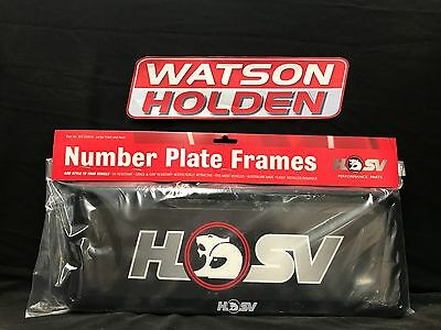Genuine HSV Licence Plate Covers SPZ-330018 Standard Size Plates (All States)