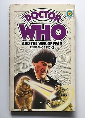 Doctor Who and the Web of Fear - First 1st Edition - Target 72 - Terrance Dicks