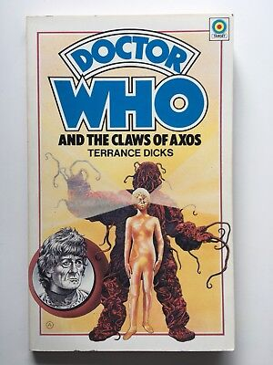 Doctor Who and the Claws of Axos - Target 10 - 1st Edition - Terrance Dicks
