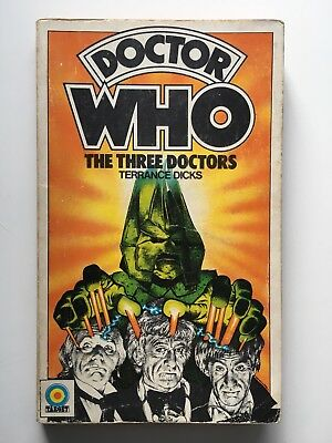 Doctor Who - The Three Doctors - Target 64 - 1st Edition - Terrance Dicks