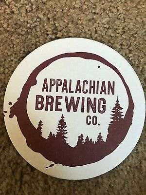 APPALACHIAN  Brewing Co. BEER  Coaster MINT CONDITION STOCKING STUFFER ONLY ONE!