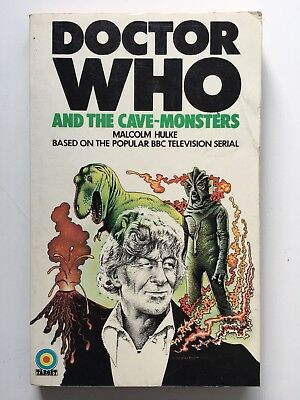 Doctor Who and the Cave-Monsters - Target 9 - Malcolm Hulke - 1st Edition