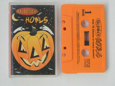 HALLMARK HALLOWEEN SOUND Effects songs 3 Cassette Tape Lot - $9 99