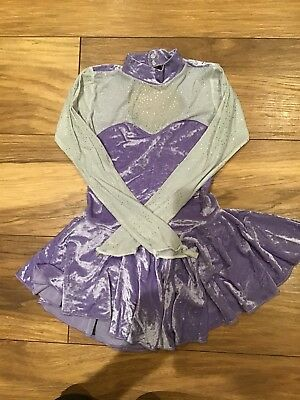 Girls Ice Skating Dress Aged 8-10