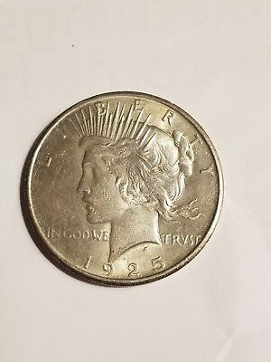 1925 Peace silver dollar Free Shipping