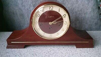 German 8 Day Westminster Chimes Mantel Clock floating Balance Movement G.W.O
