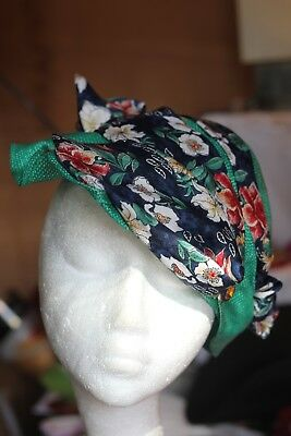 Quirky Vintage Style Hat.1940's look. Enactment/wedding/Festival/Races/