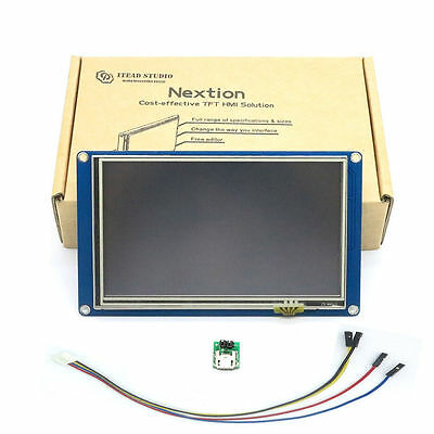 "5"" Nextion HMI LCD TFT Touch Display Panel für Arduino, Raspberry Pi, ESP8266"