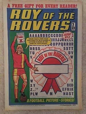 Roy Of The Rovers #2 - Ipc - 1976