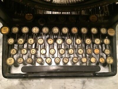 LC Smith and Bros No 8 Antique Typewriter