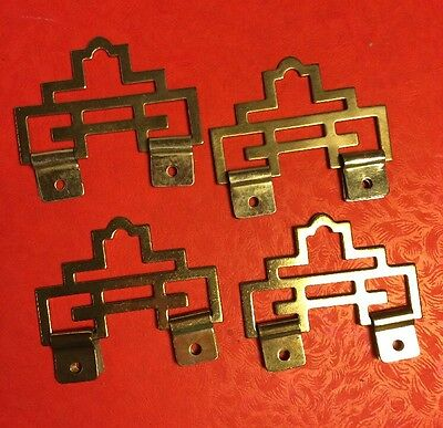 4pcs Chinese Metal PROSPERITY ART Picture Wall Scroll Hanger
