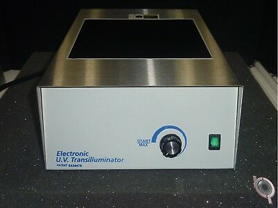 "Economy 300nm UV Transilluminator, 8""X8""  DNA gels viewing 115 VAC"