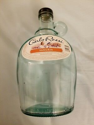 Carlo Rossi Bottle (Empty)