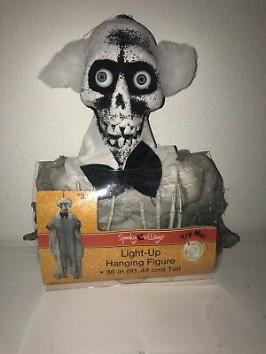 Halloween Spooky Village 36 inch Light Up Hanging Figure Decoration NIP