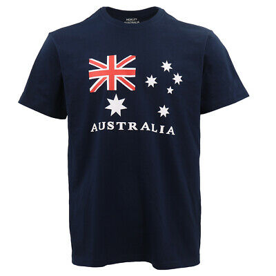 Unisex Kids Adults Mens Australian Day Aussie Flag Navy Souvenir Tee Top T Shirt