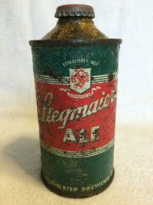 Stegmaier's Ale IRTP Cone Top Beer Can Wilkes-Barre, PA