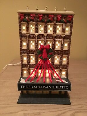 Dept 56 Christmas In The City The Ed Sullivan Theater #56.59233