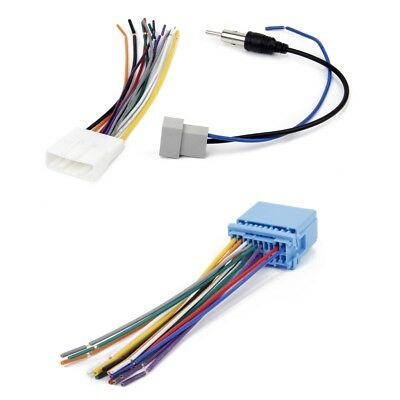 car cd audio stereo wiring harness antenna adapter for nissan rh picclick com