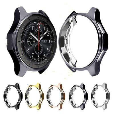For Samsung Gear S3 Frontier Slim Electroplated TPU Watch Case Protector Cover