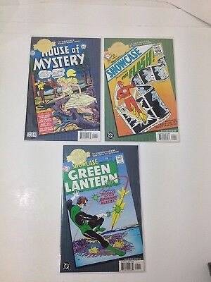 DC comics Millennium Edition Flash/ Green Lantern/ House of Mystery Read & Look!